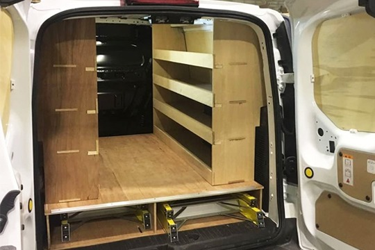 Best Value Van Ply lining, van shelving, van ply lining kits, refrigeration systems, van storage